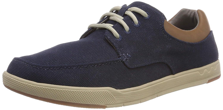 TALLA 39.5 EU. Clarks Step Isle Lace, Zapatos de Cordones Derby para Hombre