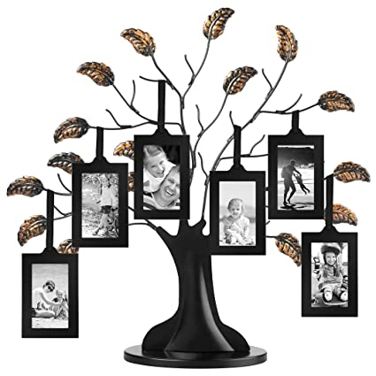 Amazon Americanflat Bronze Family Tree Frame With 6 Hanging