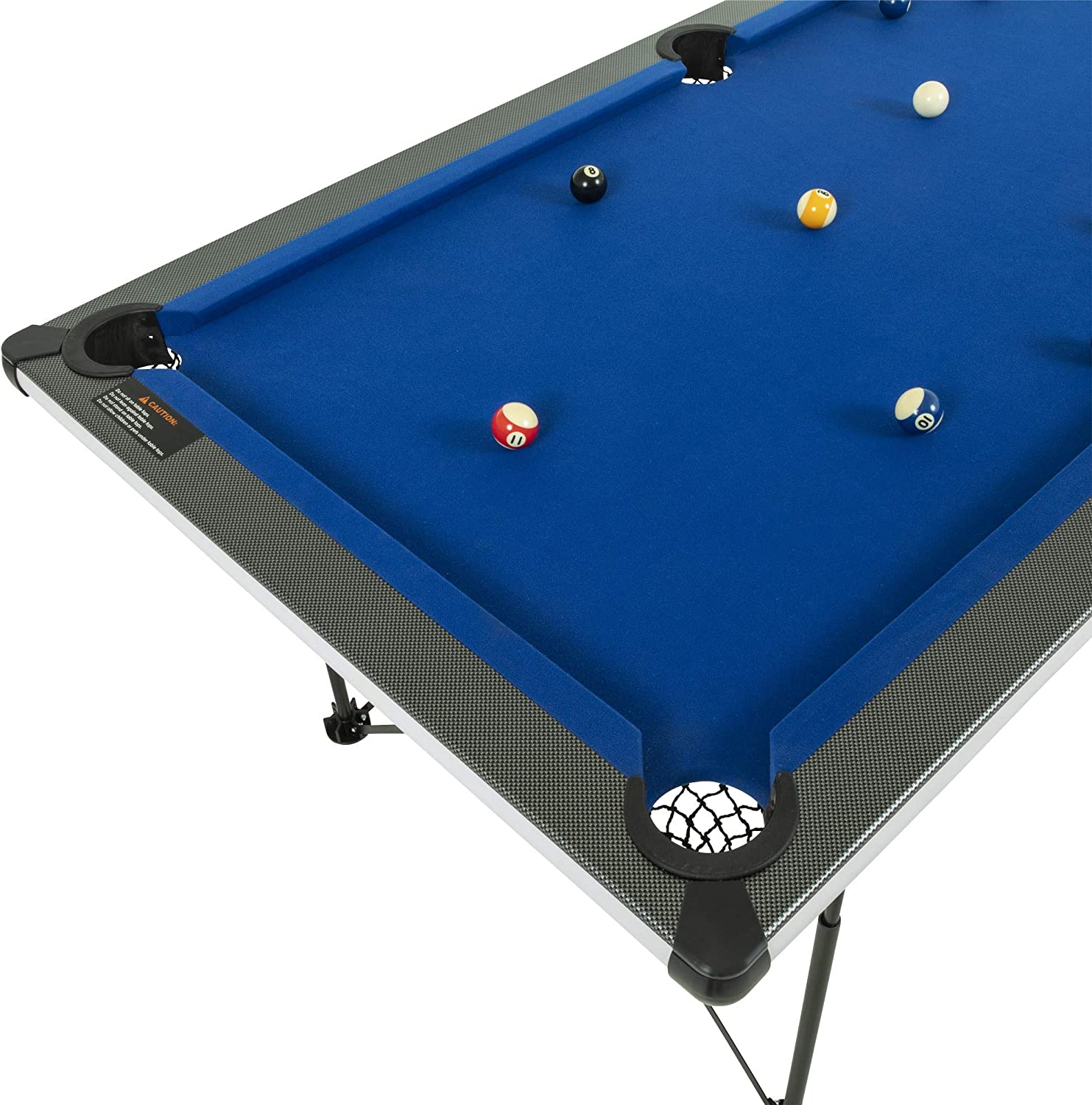 6' Pop Up Pool Table
