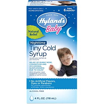 Amazon Com Hyland S Baby Cough Syrup Natural Relief Of