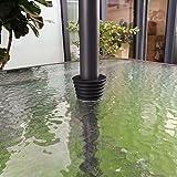 Do4U Umbrella Cone Umbrella Wedge Parasol Base Stand Patio Table Hole Ring Plug (Black)