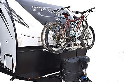 Trailer Bike Rack >> Futura Gp Rv Bike Rack For Travel Trailer Tongue A Frame Bike Rack Bike Hitch Mount Rack 2 Inch Reicever