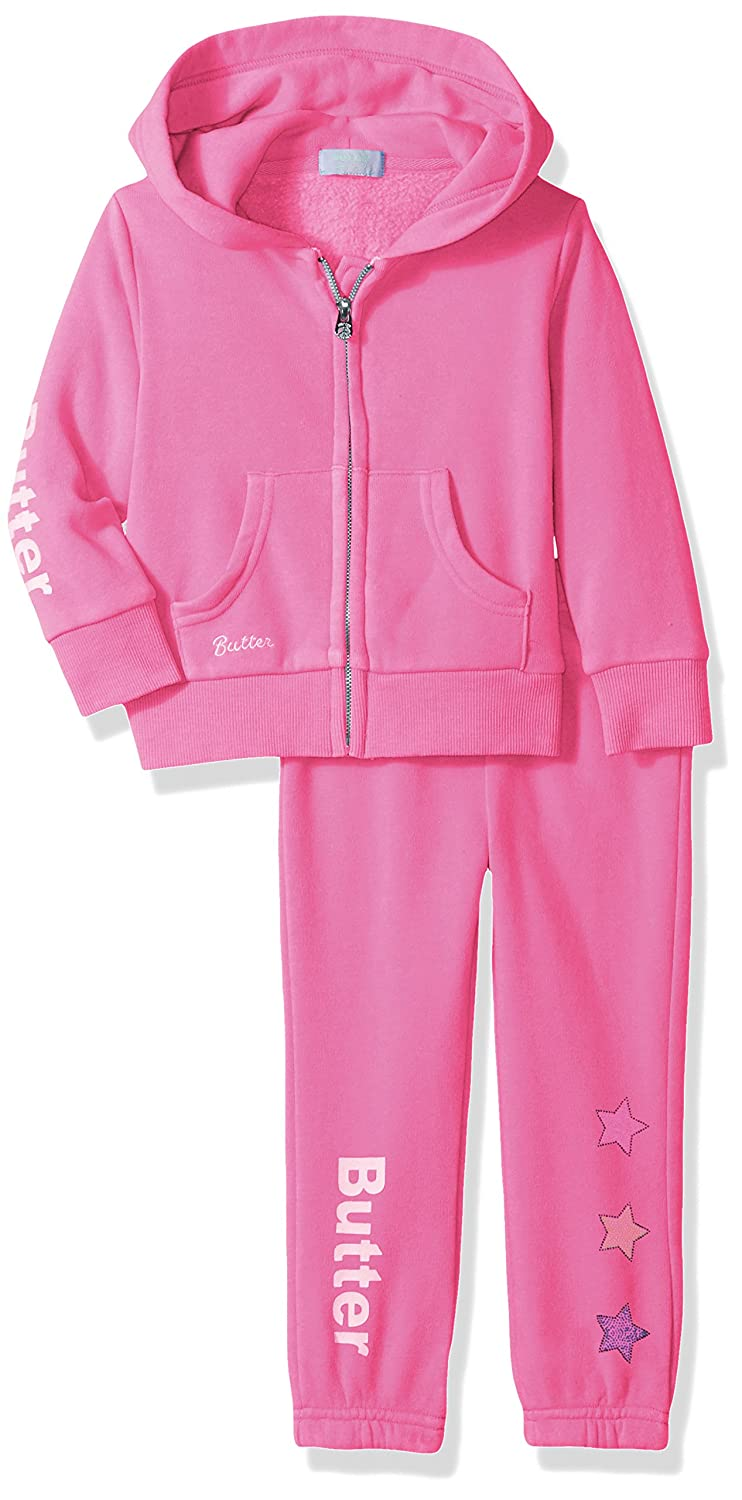 BUTTER Girls Toddler Girls 2 Piece Jog Set (More Styles Available) Butter Children' s Apparel BTGT3337