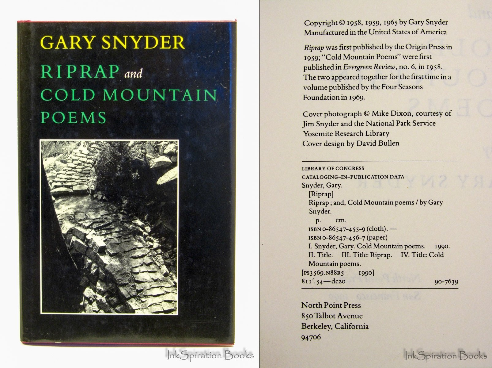 Riprap And Cold Mountain Poems Amazones Gary Snyder