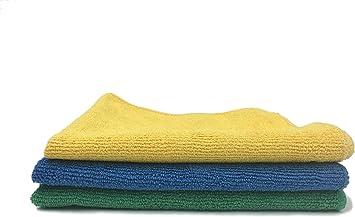 Viking Microfiber Auto Cleaning Cloths and Sponges 9 Towels 3 Sponges