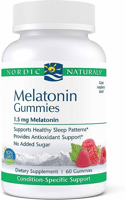 Amazon.com: Nordic Naturals Pro Melatonina gomitas – 1,5 Mg ...