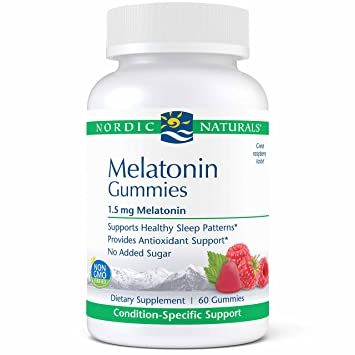 Nordic Naturals Pro Melatonin Gummies - 1.5 mg Melatonin Per Gummy, Support for Restful,