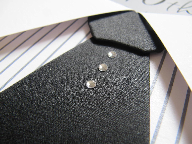 Beautiful Raised camisa y corbata con joyas 40th cumpleaños ...