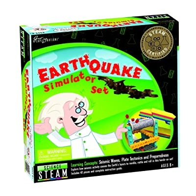 Great Explorations Earthquake Simulator Set: Toys & Games