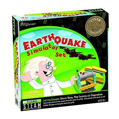 Great Explorations Earthquake Simulator Set: Toys & Games