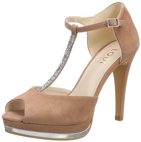 the best attitude 246eb d767e Amazon Mujer Para Y Con Tacon Pauli es Complementos Lodi Vertical Tira  Zapatos 8qzpWSw6