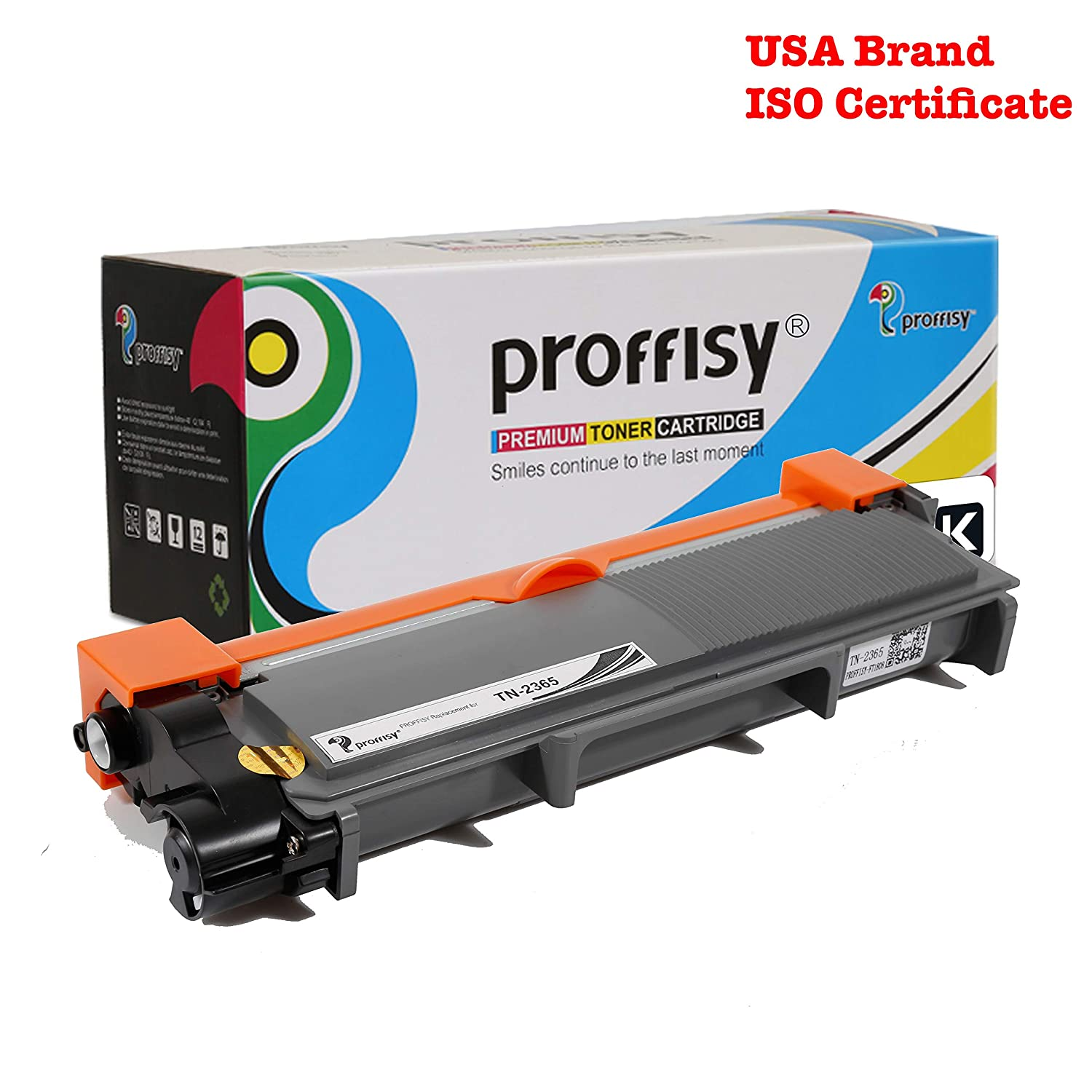 Proffisy TN 2365 for Brother TN-2365 Toner Cartridge