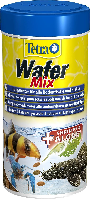 z.B. Welse und Krebse Fischfutter f/ür alle Bodenfische Tetra Wafer Mix