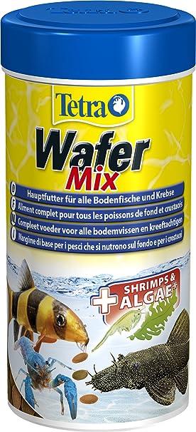 Tetra - Wafer Mix Para Peces De Fondo Y Crustaceos, 250Ml