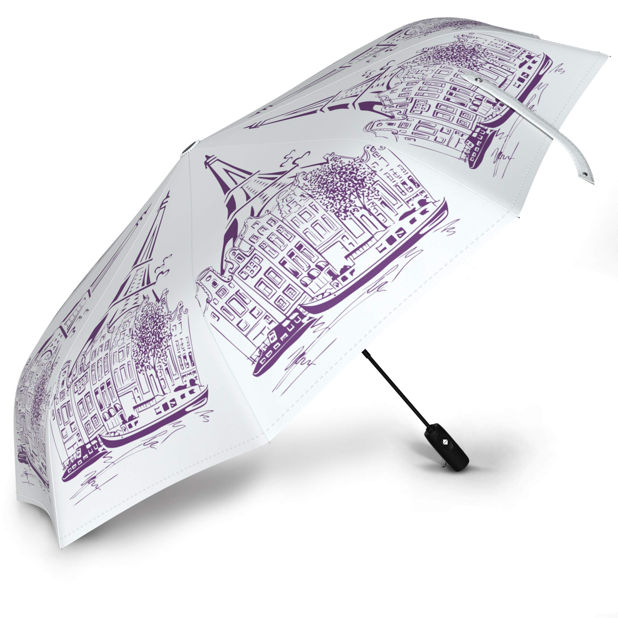 EIFFEL TOWER THEMED UMBRELLA