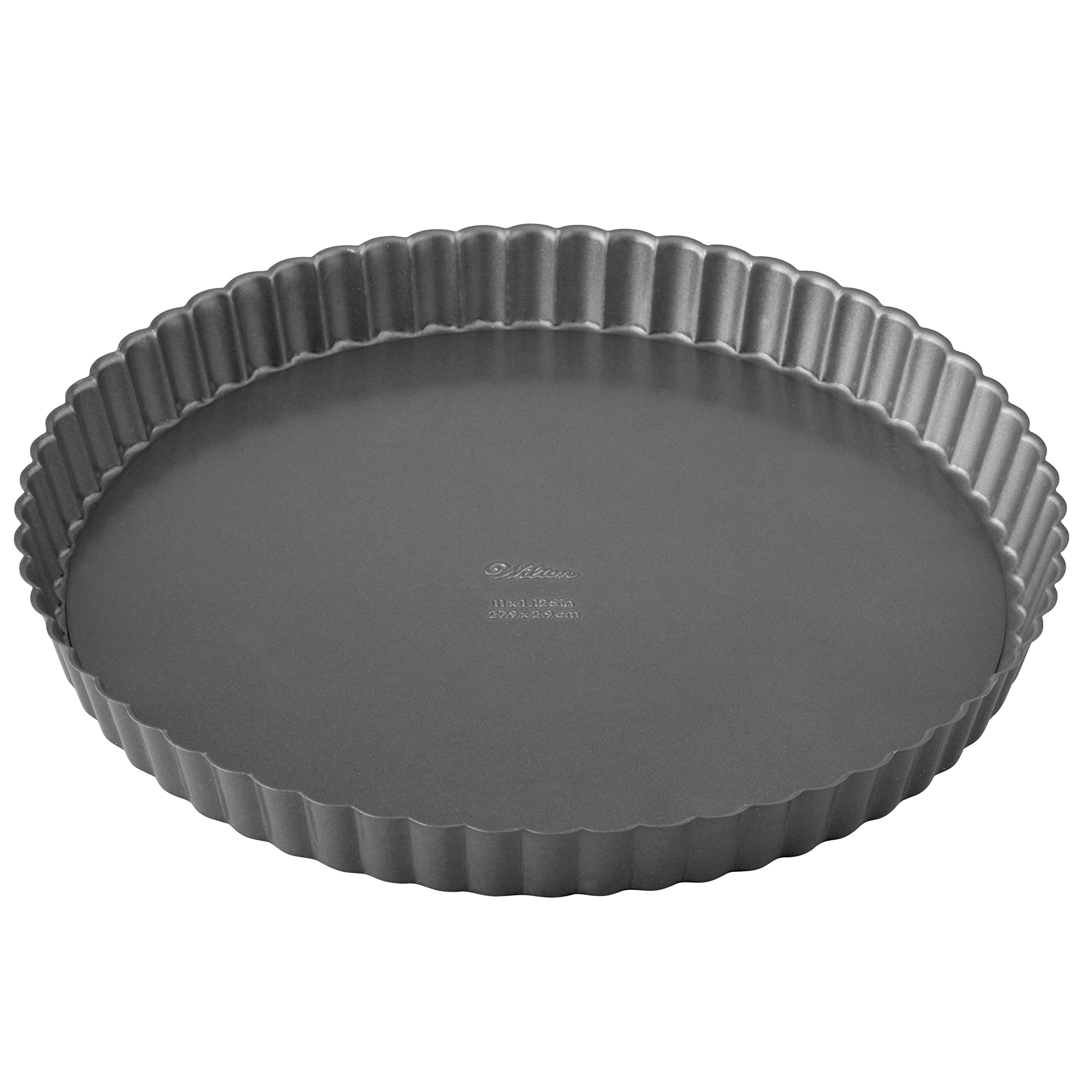 Wilton Excelle Elite Non-Stick Tart Pan and Quiche Pan with Removable Bottom, 11-Inch by Wilton (Image #3)