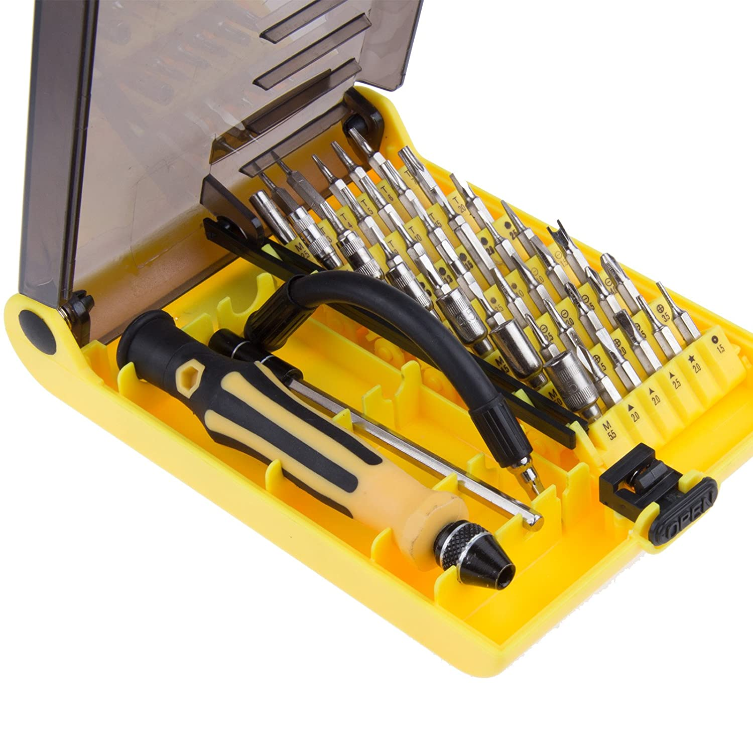 4-in-1 Hand Tool Screwdriver with TPR Handle For Toolbox Tool bag Truck Camping