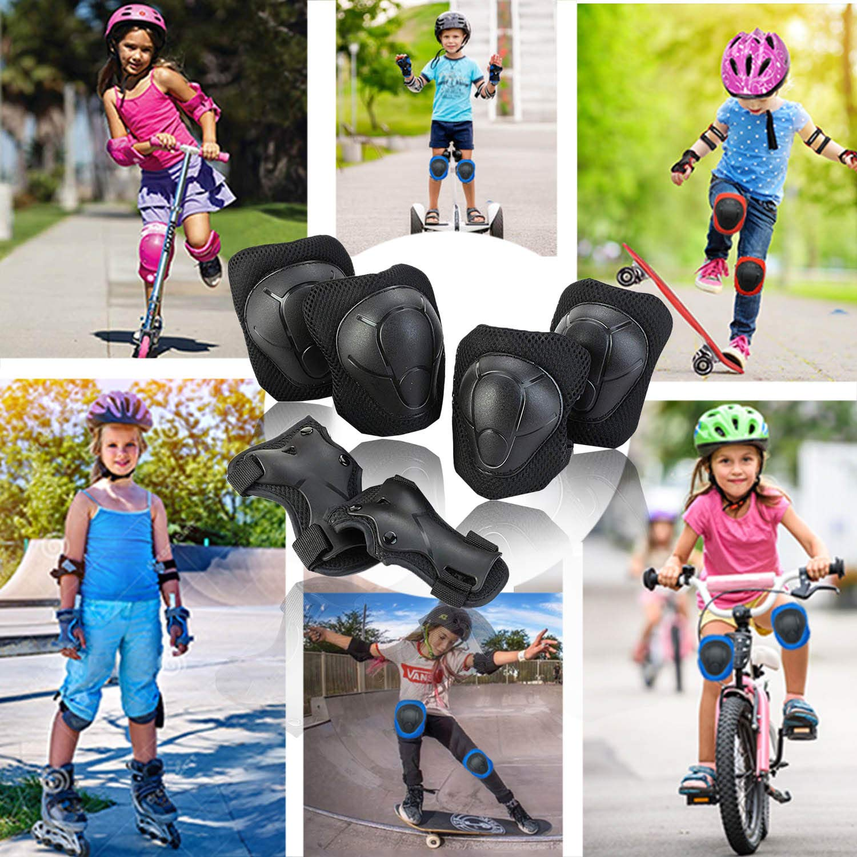 Amazon.com: Juego de rodilleras para niños y jóvenes ...