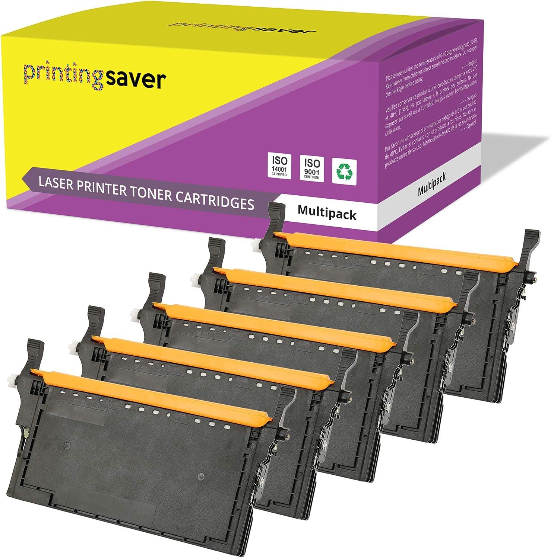 Printing Saver 5X Tóners compatibles para HP Color Laserjet Enterprise M552DN, M553N, M553DN, M553X, M553DH, MFP M577DN, M577F, M577C, M577Z impresoras