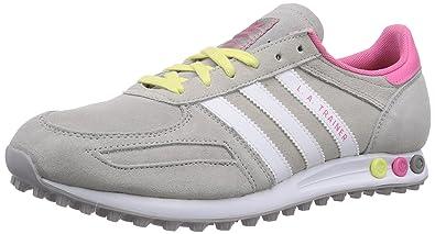 adidas LA Trainer, Damen Sneakers, Grau (Mgh Solid GreyFtwr