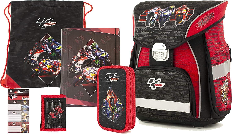 MotoGP Red/Black Mochila Tipo Casual 42 Centimeters 23 (Red/Black): Amazon.es: Equipaje
