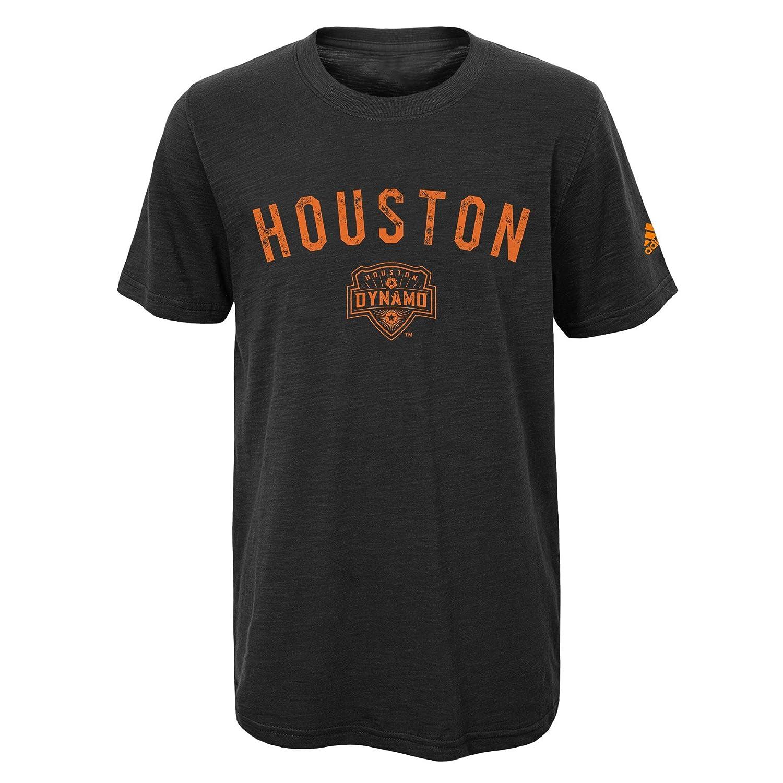 OuterStuff MLS スラブTシャツ キッズ&ユースボーイズ 街での着用に Medium (5-6) ブラック B01MTFWUPN