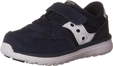 9.5 Medium US Toddler White//White Saucony Girls Baby Jazz Court Sneaker