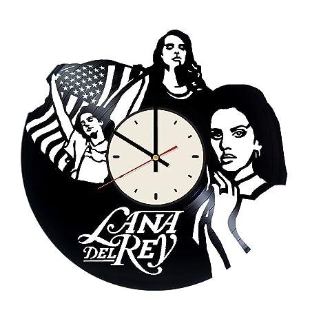 Lana Del Rey Vinyl Wall Clock Living Room Home Decor