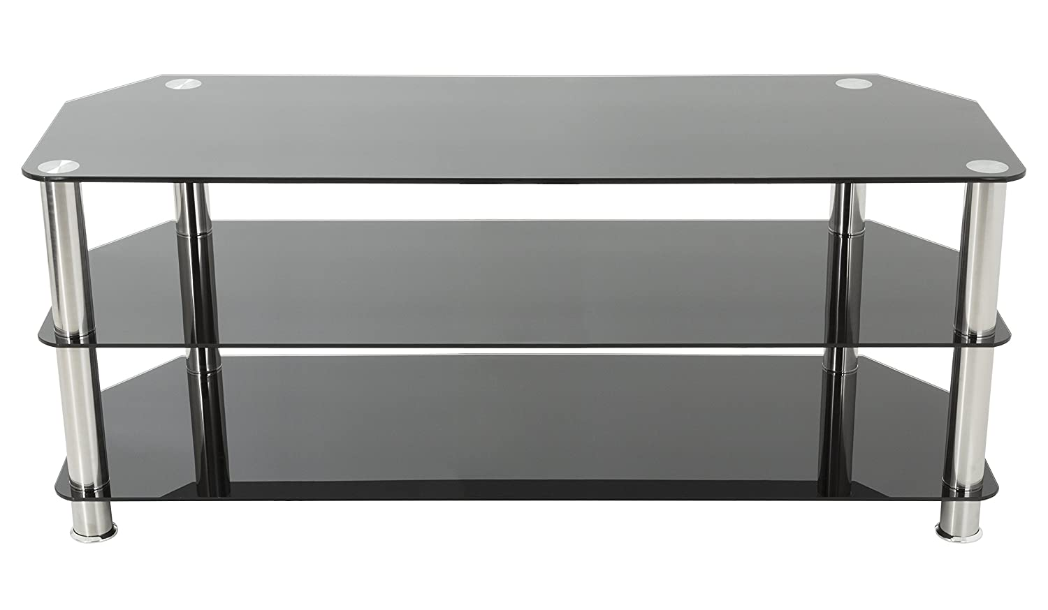Amazoncom Avf Sdc1250 A Tv Stand For Up To 60 Inch Tvs Black