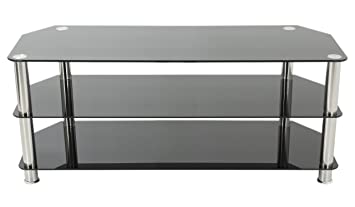 Amazon Com Avf Sdc1250 A Tv Stand For Up To 60 Inch Tvs Black