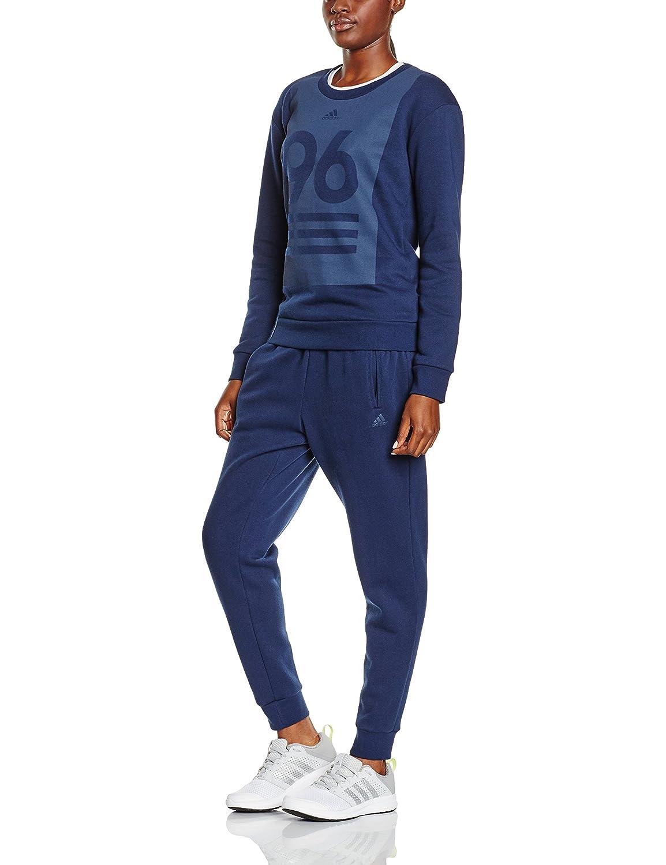 Ch/ándal para mujer Adidas Crew Neck TS