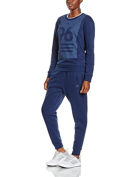 Adidas Crew Neck TS - Chándal para mujer: Amazon.es: Ropa y accesorios