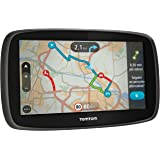 TomTom GO 60 - navigators (Battery, Cigar lighter, MicroSD (TransFlash), All Europe, 800 x 480 pixels, 16:9)
