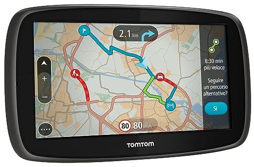 101 opinioni per TomTom GO 60 EU 45 GPS per Auto, Schermo 6 Pollici, 8 GB, Nero