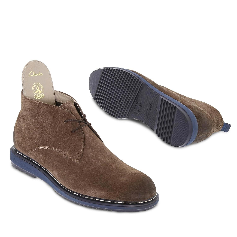 cd9bd5bb775 Clarks Men s Kenley Mid Ankle Boots  Amazon.co.uk  Shoes   Bags
