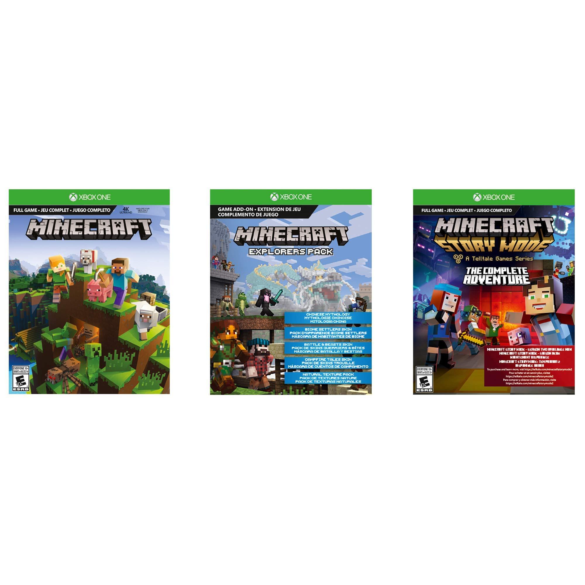 Xbox One S 1TB Console – Minecraft Bundle (Renewed) by Microsoft (Image #1)