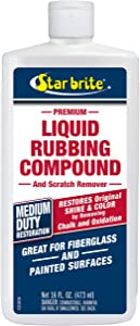 STAR BRITE Liquid Rubbing Compound 16 oz. Oxidation & Scratch Remover
