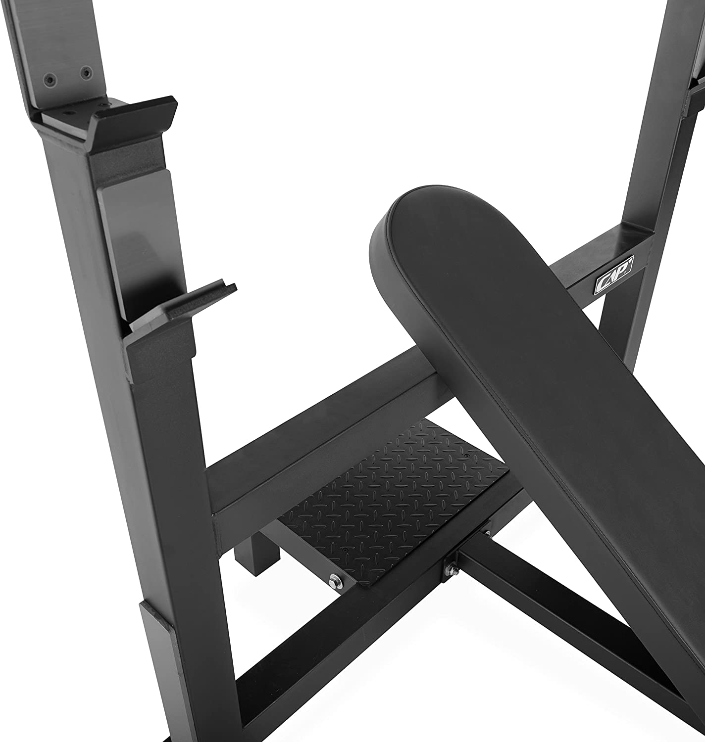 CAP Barbell Commercial Grade Weight Bench Flat//Incline//Decline Utility Exercise Olympic Workout Bench for Full Body Workout