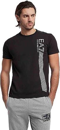 Emporio Armani Hombre Camiseta EA7 T-Shirt 3GPT67 PJ02Z: Amazon.es ...
