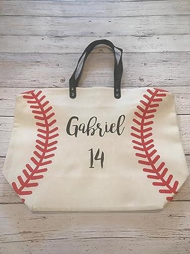 Handmade Baseballs Tote Purse Bag