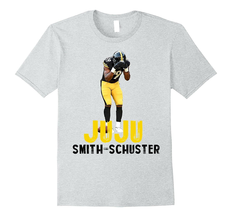 "sports shoes 08d31 386c8 ""JUJU SMITH-SCHUSTER"" Pittsburgh Football T-Shirt-FL"