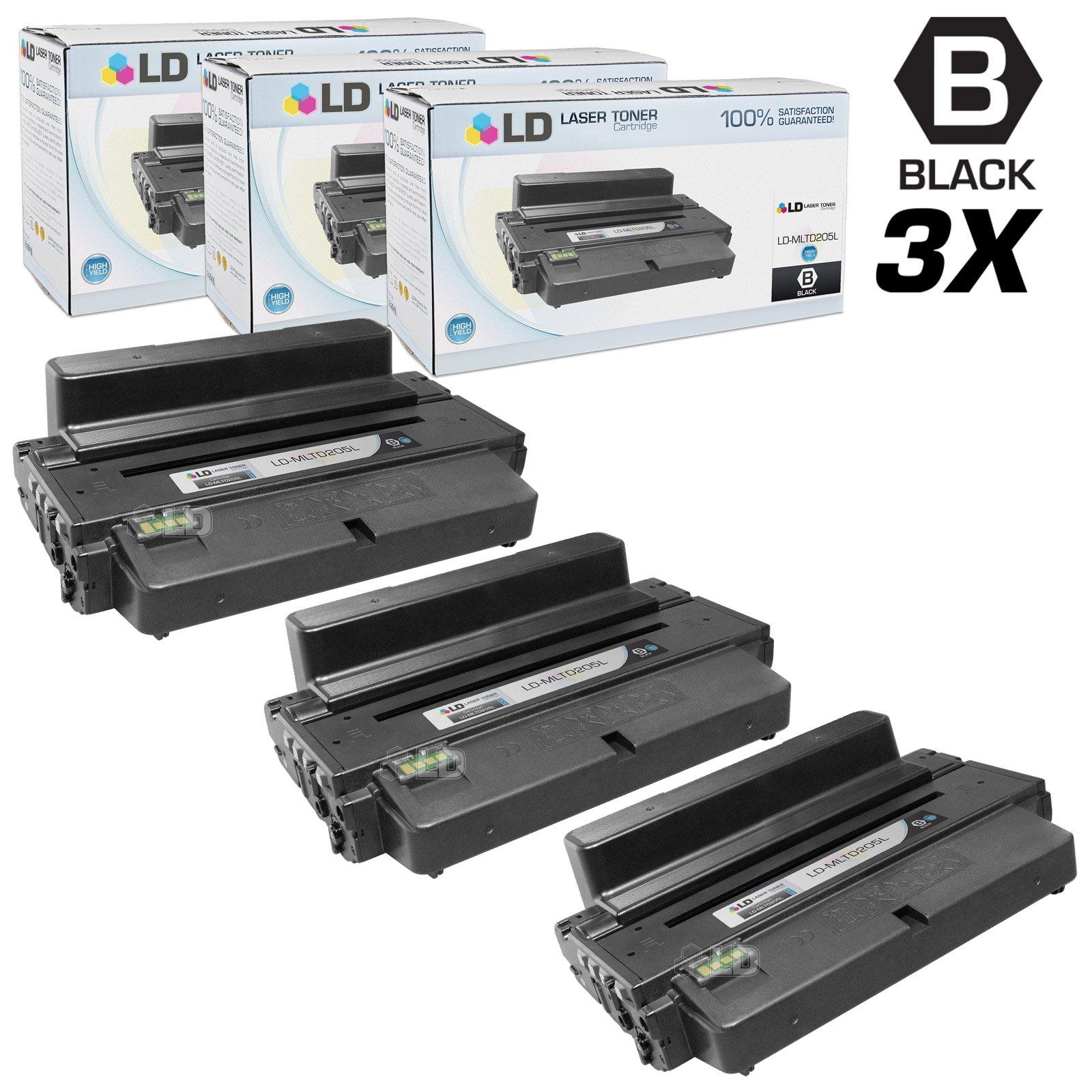 Toner Alternativo ( X3 ) Alta Capacidad Negro MLT-D205L