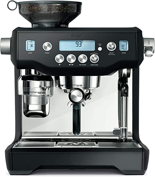 Sage Appliances SES980 - Cafetera espresso, color negro: Amazon.es ...