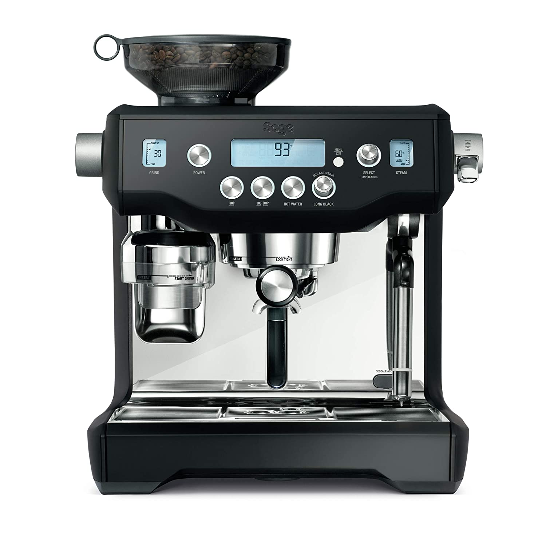 Sage Appliances SES980 - Cafetera espresso, color negro