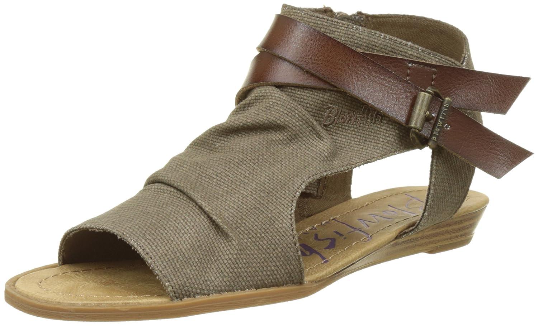 dcbee147a9b9 Blowfish Balla - Brown Whiskey Womens Sandals  Amazon.ca  Shoes   Handbags
