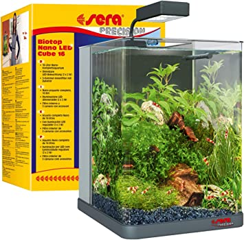 Sera Biotop Nano Led Cube 16l Ein Aquarium Komplettset Plug