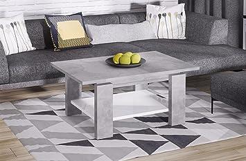 Endo Couchtisch Leon Wohnzimmertisch Tisch Ausziehbar Erweiterbar Wohnzimmer Beton Optik
