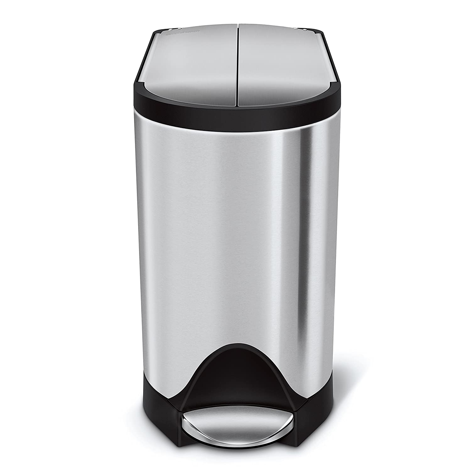 size with home small astonishing voguish trash can of in bathroom stylish cans full designs lid intended for garbage and simplehuman