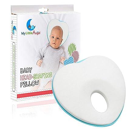 Amazon.com: Recién nacido bebé de la cabeza almohada ...