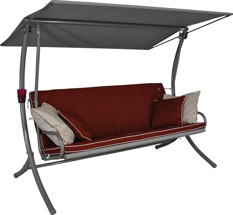 3-Sitzer Terracotta Style Angerer 421002//182//28 Royal Style Hollywoodschaukel Beige